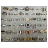 VIEW 2 COLLECTION COSTUME JEWELRY RINGS