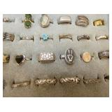 VIEW 3 COLLECTION COSTUME JEWELRY RINGS