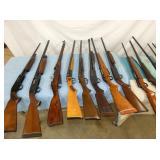 COLLECTION LONG GUNS & PISTOLS