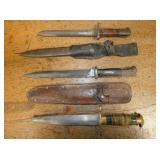 MILITARY KNIVES/DAGGERS