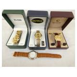 BENRUS & ELGIN WRIST WATCHES