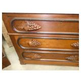VIEW 2 W/CARVED PULLS/HIDDEN DRAWER