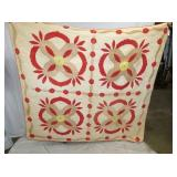EARLY HANDMADE QUILT