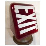 9X6 RED EXIT THEATER LIGHT