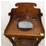 VIEW 2 TOP VIEW PRIM. WASHSTAND