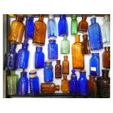 EARLY COLLECTION DRUG STORE BOTTLES