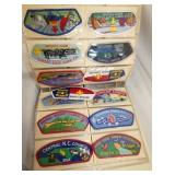 VIEW 8 SCOUT PATCHES VARIOUS STATES