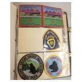 VIEW 11 SCOUT PATCHES VARIOUS STATES