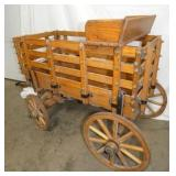 VIEW 3 OTHERSIDE 4FT. AMISH WAGON