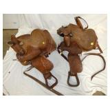 NICE CONDITION WESTERN SADDLES
