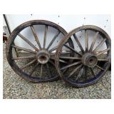 VIEW 2 SOLID MATCHING WAGON WHEELS
