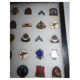 VIEW 3 COLLECTION VARIOUS MILITARY PINS