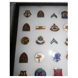 VIEW 4 COLLECTION VARIOUS MILITARY PINS