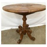 25IN UNUSUAL ROUND TOP TABLE