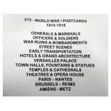 372 WWI 1914-1918 POSTCARDS