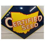 VIEW 2 CLOSEUP EMB. SEED SIGN