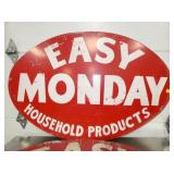 VIEW 2 CLOSEUP EASY MONDY PRODUCTS SIGN