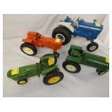 VIEW 2 TOY TRACTORS