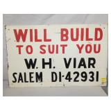 VIEW 2 OTHERSIDE CONST. BUILDERS SIGN