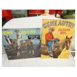 GENE AUTRY BOOK, RECORD