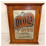 DYOLA DYES CABINET