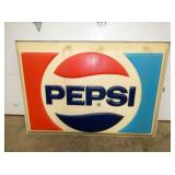 53x36 LIGHTED PEPSI CAN SIGN