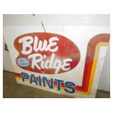 VIEW 2 BLUE RIDGE PAINTS SIGN