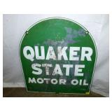 VIEW 2 OTHERSIDE QUAKER STATE SIGN