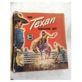 TEXAN CAP SET W/ ORIG. BOX