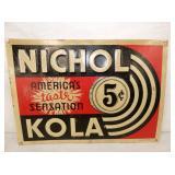 14X10 NICHOL KOLA 5CENT SIGN