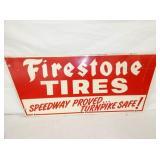 39X14 FIRESTONE TIRES SIGN