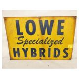 18X12 LOWE HYBRIDS SIGN
