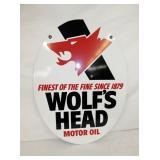 23X30 WOLFS HEAD SIGN