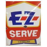 VIEW 2 CLOSEUP EZ SERVE PUMP SIGN
