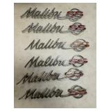 MALIBU SS ORIG. ENBLEMS