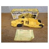 12X4 CATERPILLAR SCRAPPER W/ ORIG. BOX