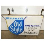 58X48 LIGHTED HEILEMANS OLD STYLE SIGN
