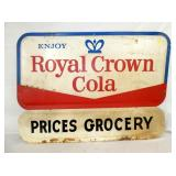 52X38 ROYAL CROWN STORE SIGN