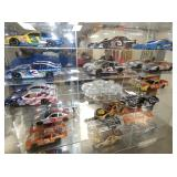 VIEW 4 COLL. 1:24 SCALE NASCAR CARS