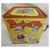 MATTEL POPEYE MUSIC BOX