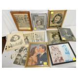 FRAMED SHIRLEY TEMPLE FRAMED PICTURES