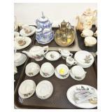 VARIOUS EARLY TEA SETS