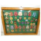COLLECTION RUSSIAN MILITARY MEDALS