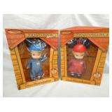 (2) MICKEY MOUSE MOUSKETEERS W/ BOXES