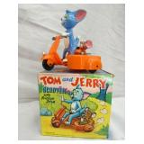 TOM & JERRY SCOOTER W/ SIDE CAR