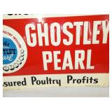 VIEW 3 RIGHTSIDE EMB. POULTRY SIGN 1959