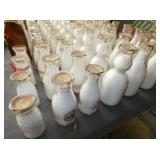 COLLECTION OF EARLY MILK BOTTLES