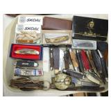 COLLECTION OF VARIOUS POCKET KNIVES