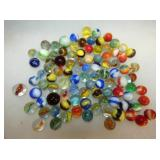 COLLECTION OF EARLY MARBLES