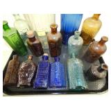 COLLECTION OF POISON BOTTLES
